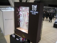 JAPAN GLASSWARE TRADE SHOW 2010-01/展示ブース施工