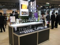 JAPAN GLASSWARE TRADE SHOW 2010-03/展示ブース施工