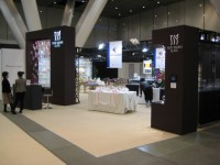JAPAN GLASSWARE TRADE SHOW 2010-05/展示ブース施工