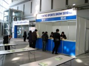 THE TOKYO SPORTS SHOW 2010 Feb-06/事務局・セミナーの設営